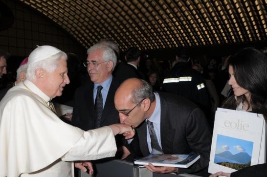 Il Centro Studi in visita dal Papa